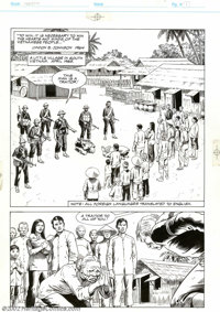 Russ Heath - Original Art for Epic Graphic Novel: Hearts and Minds (Marvel, 1990).Over the last 50 or so years, we've co...