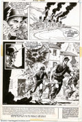 "Original Comic Art:Complete Story, Russ Heath - Original Art for Our Army at War #251, Complete 14-page Story, ""The Iron Major"" (DC, 1972). ""We will see which ..."