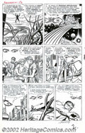 Original Comic Art:Panel Pages, Jack Kirby and Dick Ayers - Original Art for Avengers #1, page 2(Marvel, 1963). Take a look at this blast from the past fro...