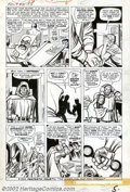 Original Comic Art:Panel Pages, Jack Kirby and Dick Ayers - Original Art for Fantastic Four #10,page 5 (Marvel, 1963). In 1961, a revolution occurred. Not ...