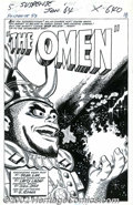 "Original Comic Art:Complete Story, Larry Lieber - Original Art for Tales of Suspense #53, Complete5-page Story, ""The Omen"" (Marvel, 1964). This is a great sto..."
