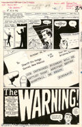 "Original Comic Art:Splash Pages, Alex Toth - Original Art for The Rawhide Kid #46, ""The Warning""(Marvel, 1965)...."