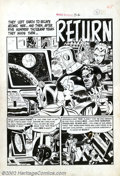 Original Comic Art:Splash Pages, Wally Wood - Original Art for Weird Science #5, page 9 (EC, 1951).A cautionary tale about the evils of war and conflict, th...