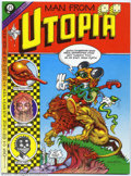 Bronze Age (1970-1979):Alternative/Underground, Man From Utopia #1 (San Francisco Comic Book Company, 1972). Rick Griffin is the quintessential psychedelic artist,and as a ...