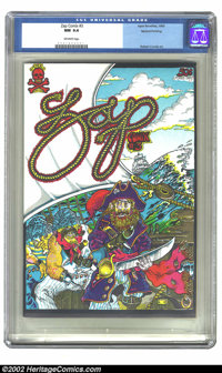 Zap Comix #3 Don Schenker File Copy (Apex Novelties, 1968) CGC NM 9.4 Off-white pages. This is a second printing of the...
