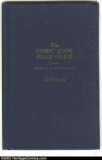 The Overstreet Price Guide Lot (Gemstone, 1970). The Comic Book Price Guide by Robert Overstreet has been regarded as...