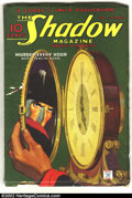 Pulps:Detective, Shadow June 1, 1935 (Street & Smith, 1935). This is aspectacular example of a mid-Thirties Shadow pulp with a classicR...