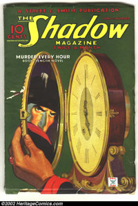 Shadow (Street & Smith, 1935) Condition: VG/FN. This is a spectacular example of a mid-thirties Shadow pulp with a c...