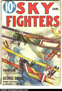 Sky Fighters Group Lot (Standard, 1933-1937). Here is a really cool group lot of a seldom-seen title. The issues in this...