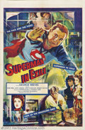 """Movie Posters:Fantasy, Superman in Exile (20th Century Fox, 1954). One Sheet (27"""" X 41""""). Starring: George Reeves, Noel Neill. This poster was used..."""