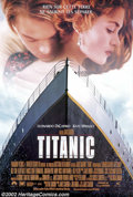 "Movie Posters:Adventure, Titanic (20th Century Fox, 1997).French One Sheet (27"" X 41""). Dir.James Cameron. Starring: Kate Winslet, Leonardo DiCaprio..."