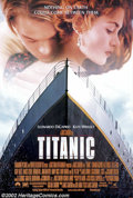 "Movie Posters:Adventure, Titanic (20th Century Fox, 1997).One Sheet (27"" X 41""). Dir. Jamescameron. Starring: Kate Winslet, Leonardo DiCaprio, Bill ..."