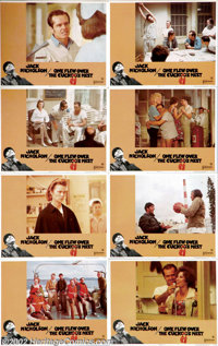 """One Flew Over the Cuckoo's Nest (United Artists, 1975).Half Sheet (22"""" X 28"""") and Lobby Card Set (11"""" X 1..."""