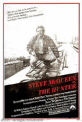 """Movie Posters:Western, Hunter, The (Paramount, 1980). Rare Mylar One Sheet (27"""" X 41"""").Starring: Steve McQueen, Eli Wallach.Near Mint-. Rolled. Ve..."""