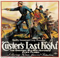 "Movie Posters:Western, Custer's Last Fight (Quality Amusement, 1922).Six Sheet (81"" X81"").Dir. Francis Ford. Starring: Francis Ford, Art Accord. R..."