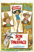 "Movie Posters:Comedy, Son of Paleface (Paramount, 1952).One Sheet (27"" X 41""). Dir. FrankTashlin. Starring: Bob Hope, Jane Russell, Roy Rogers. F..."