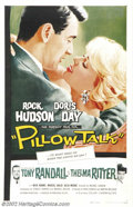 "Movie Posters:Comedy, Pillow Talk (Universal, 1959).One Sheet (27"" X 41""). Dir.MichaelGordon. Starring: Doris Day, Rock Hudson. Fine on Linen. Tw..."