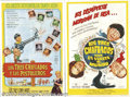 "Movie Posters:Comedy, Three Stooges Argentinian Posters (Columbia, 1963, 1965).(2) Argentinian One Sheets (29"" X 43""). Starring: The Three Stooges..."