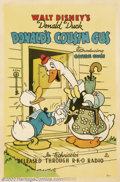 """Movie Posters:Animated, Donald's Cousin Gus (RKO, 1939).One Sheet (27"""" X 41"""").Dir. JackKing. Co-Written by Carl Barks. Starring: Donald Duck, Cousi..."""