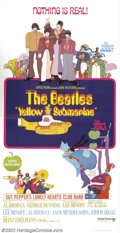 """Movie Posters:Animated, Yellow Submarine (United Artists, 1968).Three Sheet (41"""" X81"""").Dir. George Dunning. Starring: The Beatles. Posters for the..."""