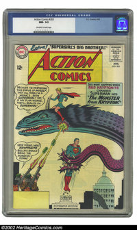 Action Comics #303 (DC, 1963) CGC NM- 9.2 Off-white to white pages. Overstreet 2002 NM 9.4 value = $50