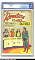 Silver Age (1956-1969):Superhero, Adventure Comics #247 (DC, 1958) CGC GD 2.5 Off-white pages. This issue features the first appearance of the Legion of Super...