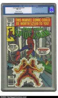 Amazing Spider-Man, The #208 (Marvel, 1980) CGC NM+ 9.6 Off-white to white pages. John Romita Jr. cover and art. Overstr...