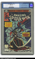 Modern Age (1980-Present):Superhero, Amazing Spider-Man, The #210 (Marvel, 1980) CGC NM+ 9.6 Off-white to white pages. First appearance of Madame Web; Romita Jr....