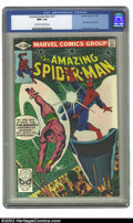 Modern Age (1980-Present):Superhero, Amazing Spider-Man, The #211 (Marvel, 1980) CGC NM+ 9.6 Off-white to white pages. Sub-Mariner appearance; John Romita Jr. co...