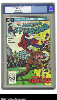 Amazing Spider-Man, The #226 (Marvel, 1982) CGC NM+ 9.6 Off-white to white pages. Black Cat appearance; John Romita Jr...