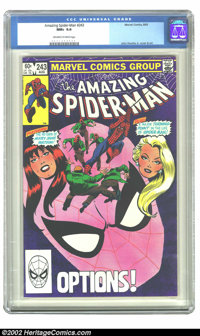 Amazing Spider-Man, The #243 (Marvel, 1983) CGC NM+ 9.6 Off-white to white pages. John Romita Jr. cover and art. Overstr...