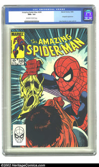Amazing Spider-Man, The #245 (Marvel, 1983) CGC NM+ 9.6 Off-white to white pages. Hobgoblin appearance; John Romita Jr...