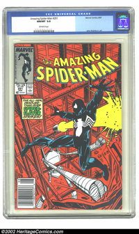 The Amazing Spider-Man #291 (Marvel, 1987) CGC NM/MT 9.8 Off-white pages. John Romita Jr. art. Overstreet 2002 NM 9.4 va...