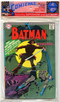 Silver Age (1956-1969):Superhero, Comicpac #A2, #A6 and #B6 (DC, 1966). Here are three unopened fourpacks of DC comics from 1966. #A-2 contains Batman #189 (...