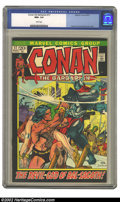 Bronze Age (1970-1979):Miscellaneous, Conan #17 (Marvel, 1972) CGC NM+ 9.6. This is gorgeous HIGH-GRADEcopy of this classic bronze age fantasy classic. Art by Gi...