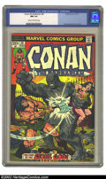 Bronze Age (1970-1979):Miscellaneous, Conan #36 (Marvel, 1974) CGC NM 9.4 Cream to Off-white pages. Thisbeautiful bronze age book is nearly flawless. Overstreet ...