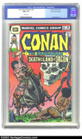 Bronze Age (1970-1979):Miscellaneous, Conan #62 30 Cent Price Variant (Marvel, 1976) CGC NM+ 9.6 Whitepages. While the vast majority of the copies of this issue ...