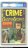 Golden Age (1938-1955):Crime, Crime SuspenStories #8 (EC, 1951) CGC VF+ 8.5 Off-white pages. Ingels, Kamen and Roussos art. Overstreet 2002 VF 8.0 value =...