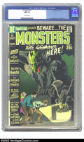 Bronze Age (1970-1979):Horror, DC Special #11 (DC, 1971) CGC NM 9.4 Off-white pages. Overstreet2002 NM 9.4 value = $35....