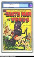 Golden Age (1938-1955):Science Fiction, Earth Man on Venus nn (Avon, 1951) CGC VG/FN 5.0 Cream to off-whitepages. Overstreet 2002 GD 2.0 value = $127; FN 6.0 value...