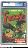 Golden Age (1938-1955):Horror, Fantastic #8 (Youthful Magazines, 1952) CGC FN/VF 7.0 Cream tooff-white pages. Overstreet 2002 FN 6.0 value = $120; VF 8.0 ...