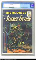 Golden Age (1938-1955):Science Fiction, Incredible Science Fiction #31 (EC, 1955) CGC VF+ 8.5 Cream tooff-white pages. Wood, Williamson and Krenkel art. Overstreet...