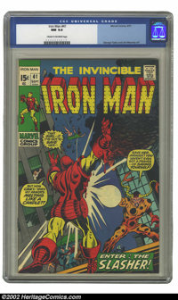 Iron Man #41 (Marvel, 1971) CGC NM 9.4 Cream to off-white pages. George Tuska and Jim Mooney art. Overstreet 2002 NM 9.4...