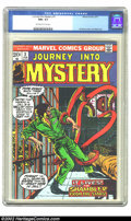 Bronze Age (1970-1979):Horror, Journey into Mystery (2nd Series) #3 (Marvel, 1973) CGC NM+ 9.6Off-white to white pages. Overstreet 2002 NM 9.4 value = $18...