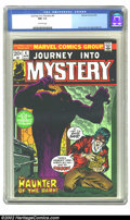 Bronze Age (1970-1979):Horror, Journey into Mystery (2nd Series) #4 (Marvel, 1973) CGC NM 9.4Off-white pages. Overstreet 2002 NM 9.4 value = $18....