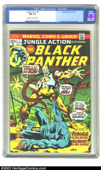Jungle Action #7 (Marvel, 1973) CGC NM 9.4 Cream to off-white pages. Overstreet 2002 NM 9.4 value = $12