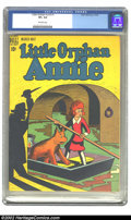 Golden Age (1938-1955):Miscellaneous, Little Orphan Annie #1 (Dell, 1948) CGC VF+ 8.5 Off-white pages. Overstreet 2002 VF 8.0 value = $98; NM 9.4 value = $175. ...