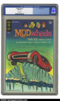 Bronze Age (1970-1979):Miscellaneous, Mod Wheels #2 (Gold Key, 1971) CGC NM 9.4 Off-white pages.Overstreet 2002 NM 9.4 value = $20....