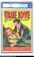 Golden Age (1938-1955):Romance, My True Love #69 (Fox, 1950) CGC VF 8.0 Off-white pages. Morisiart. Overstreet 2002 VF 8.0 value = $55. ...