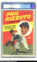 Golden Age (1938-1955):Non-Fiction, Phil Rizzuto Baseball Hero nn (Fawcett, 1951) CGC FN- 5.5 Off-whitepages. This issue features a photo cover. Overstreet 200...